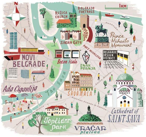 belgrad harita