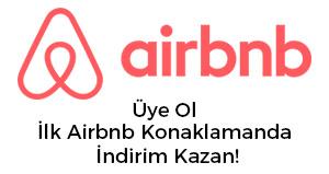 Airbnb Konaklamasında İndirim
